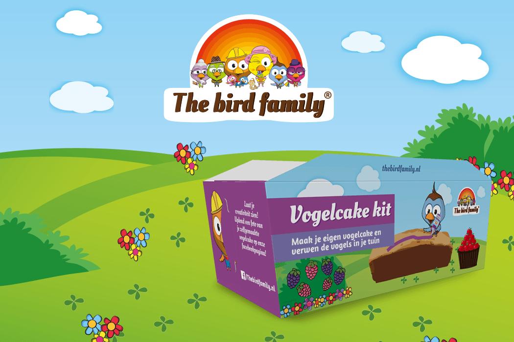 The Bird Family Vogelcake Verpakkingsontwerp Kids